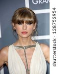 taylor swift at the 55th annual ... | Shutterstock . vector #128753954