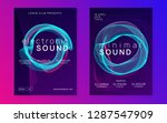 electro event. bright... | Shutterstock .eps vector #1287547909