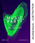 trance party. cool show... | Shutterstock .eps vector #1287547939