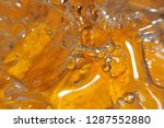 top view of bubbles in iced... | Shutterstock . vector #1287552880