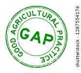 grunge green gap  abbreviation... | Shutterstock .eps vector #1287554176
