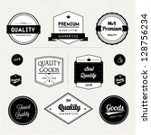 set of premium quality | Shutterstock .eps vector #128756234