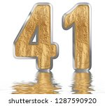 numeral 41  forty one ... | Shutterstock . vector #1287590920