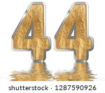 numeral 44  forty four ... | Shutterstock . vector #1287590926