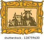 vector illustration of a family ... | Shutterstock .eps vector #128759630