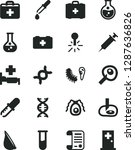 solid black vector icon set  ... | Shutterstock .eps vector #1287636826