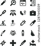 solid black vector icon set  ... | Shutterstock .eps vector #1287643339