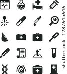 solid black vector icon set  ... | Shutterstock .eps vector #1287645646