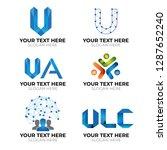 modern logotype collection | Shutterstock .eps vector #1287652240
