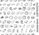 thumbnails set. background for... | Shutterstock .eps vector #1287655276