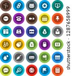 white solid icon set  window... | Shutterstock .eps vector #1287658999