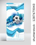 football competition flyer... | Shutterstock .eps vector #1287675043