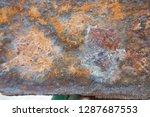 rust on the steel surface | Shutterstock . vector #1287687553