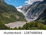 franz josef glacier as seen... | Shutterstock . vector #1287688066