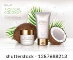 cosmetic realistic vector... | Shutterstock .eps vector #1287688213