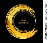 gold round design templates for ... | Shutterstock .eps vector #1287699730