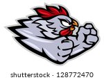 Fighting Rooster Cartoon...