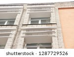 part of the facade of the...   Shutterstock . vector #1287729526