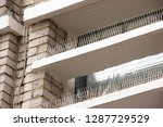 part of the facade of the...   Shutterstock . vector #1287729529