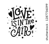 love is in the air vector...   Shutterstock .eps vector #1287736099