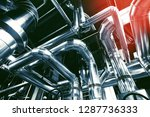 equipment  cables and piping as ... | Shutterstock . vector #1287736333