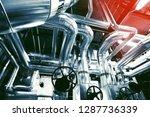industrial zone  steel... | Shutterstock . vector #1287736339