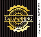 caravanning gold shiny emblem   Shutterstock .eps vector #1287745870
