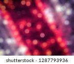 abstract defocused bokeh lights ... | Shutterstock . vector #1287793936