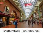 kobe japan april 17  people... | Shutterstock . vector #1287807733