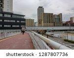 kobe japan april 17  people... | Shutterstock . vector #1287807736
