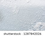 the texture of the ice. the... | Shutterstock . vector #1287842026