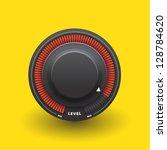 black knob graphic | Shutterstock .eps vector #128784620