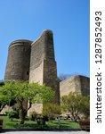 12th century maiden tower in...   Shutterstock . vector #1287852493