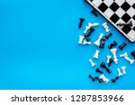Symbol Of Competition. Chess...