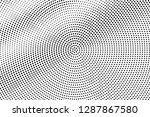 black on white smooth halftone... | Shutterstock .eps vector #1287867580