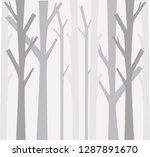 trees background. the trunk and ... | Shutterstock .eps vector #1287891670