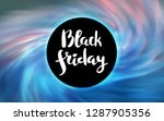 light blue vector texture with... | Shutterstock .eps vector #1287905356