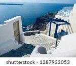 santorini island  greece  ... | Shutterstock . vector #1287932053