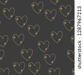 seamless pattern for valentine... | Shutterstock .eps vector #1287967213