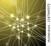 vector background   dna strands ... | Shutterstock .eps vector #1287969373