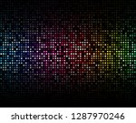 dot fade rainbow dark color...   Shutterstock .eps vector #1287970246