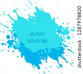 abstract watercolour brush... | Shutterstock .eps vector #1287978820