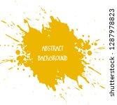 abstract watercolour brush... | Shutterstock .eps vector #1287978823