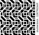 design seamless monochrome... | Shutterstock .eps vector #1287982669