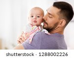 family  parenthood and people... | Shutterstock . vector #1288002226