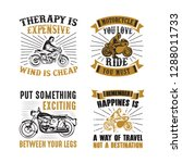 rider quote and saying. 100... | Shutterstock .eps vector #1288011733