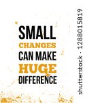 small changes can make huge... | Shutterstock .eps vector #1288015819