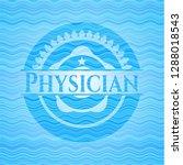 physician water badge...   Shutterstock .eps vector #1288018543
