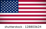 national flag of the usa with...   Shutterstock .eps vector #128803624
