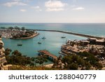view of beautiful marina from... | Shutterstock . vector #1288040779